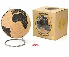 S611400 Suck UK Cork Globe Mappamondo sughero Marrone