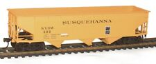 Accurail (7560) SUSQUEHANNA (Yellow)  3 Bay Hopper Car KIT #600  NIB