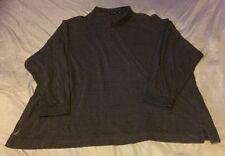 Vintage Nautica Square Pattern Long Sleeve Men's Polo Shirt Size 4XL
