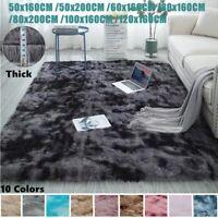 Luxury Large Motley Plush Carpets Shag Soft Fluffy Area Rugs For Living Room