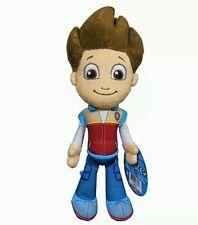 Paw Patrol Genuine Nickelodeon SpinMaster Ryder Plush Soft Toy w/Tags Boy Girl