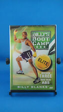 Billy's Boot Camp Elite Mission Three: Rock Solid Abs (DVD, 2006) Brand New!