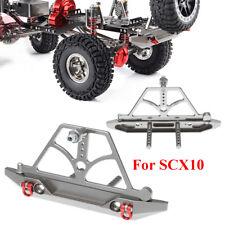 US Rear Bumper CNC Aluminum Rock for 1/10 Axail SCX10 RC Climbing Crawler Car