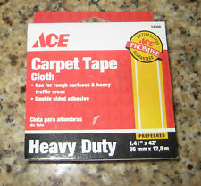 "New listing Ace Carpet Tape Cloth, Heavy Duty, 1.41"" X 42'. New!"