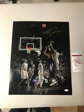 Kris Jenkins Autograph Signed Villanova Spotlight Shot 16x20 Photo Jsa