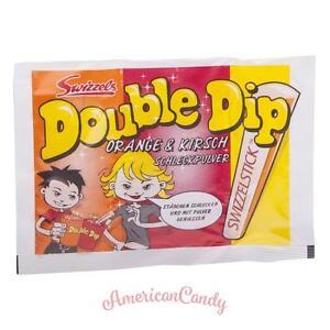 25x DOK Double Dip Brausepulver Kirsche & Orange aus der Kindheit (23,98€/1kg)