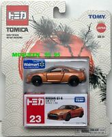 TAKARA TOMY TOMICA WALMART EXCLUSIVE NISSAN GT-R ORANGE