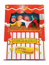 Kids Childs Punch & Judy Puppets & Theatre Toy - New