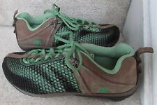 Timberland Earthkeeper Bar Instep Trail Hiking Ladies Shoes Brown/Green 3327R Si