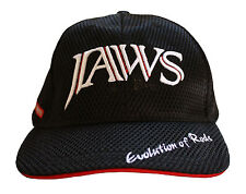 Evolution of Jaws Rod 3D Embroidery premium type fishing hat / cap Black