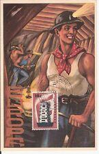 Maximum Card  1956 Netherlands  europa cept
