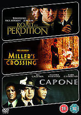 ROAD TO PERDITION / MILLER'S CROSSING / CAPONE ( NEW DVD