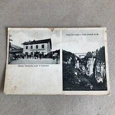 T) Postcard Format Little mostizollo CIS Cles Trento Hotel folded