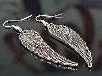 Hot Fashion Jewelry Angel Wings Earrings Womens Girls Drop Dangle Earrings