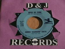 JOHNNY HAMMOND SMITH~OPUS DE FUNK~SAD EYES~NEAR MINT~PRESTIONS 407~~ FUNK  45