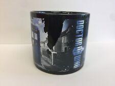 Doctor Who Disappearing Tardis Coffee Mug Black Ceramic Cup