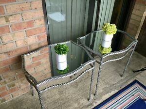 End Table - Set of 2 (glass)