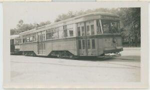 1939 Baltimore Transit #6145 Brill Streetcar Trolley Belvedere Loop MD Photo