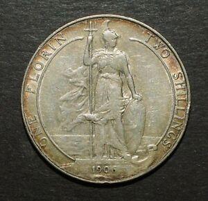 EDWARD VII 1906 FLORIN