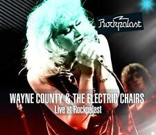 Wayne County And The Electric Chairs - Live At Rockpalast (NEW CD+DVD)
