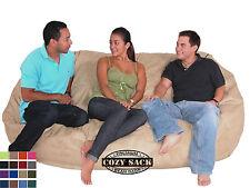 Bean Bag Chair By Cozy Sack Premium Big XL 7' Cozy Foam Filled Factory Direct