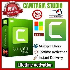 Camtasia ✅ Tech-Smith ✅ Studio 2020 🌟 Windows (X64) ✅ PRE-ACTIVATED Guarantee🔥