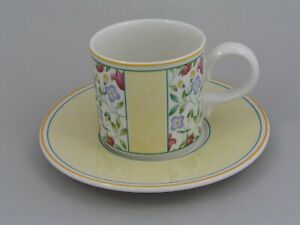 VILLEROY & BOCH VIRGINIA COFFEE CUP AND SAUCER.
