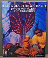 Dave Matthews Band Under The Table And Dreaming Piano Vocal Guitar Music Book