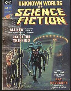 Unknown Worlds of Science Fiction # 1 - Frazetta & Adams art VF Cond.