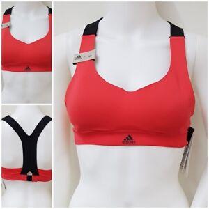 adidas Sport BH XS A/B 77 - 82 BRA Trainings Top Fitness Top pink rot schwarz