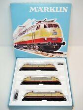 """Märklin 37574 Set of 3 Locomotives DB """"175 Jahre Eisenbahn in Deutschland"""" - NEW"""