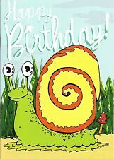 Age 3+ Birthday Greetings 130x178mm Card Booklet Full of CreepyCrawlies to Color
