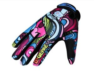 QEPAE Full Finger Practical Gloves Mountain Road XC Cycling Bike Glove M L XL