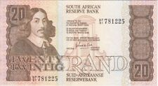 SOUTH AFRICA  BANKNOTE P121c 20 RAND, SLIGHT CENTER FOLD, EF
