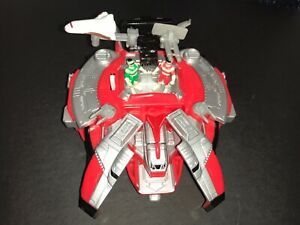 1990's 100% COMPLETE Power Rangers In Space Astro Megaship Micro Playset