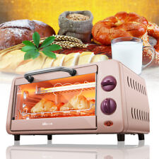 Stainless Steel Electric Toaster Convection Oven Broiler Kitchen Countertop