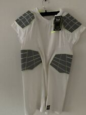 Nike Pro Combat Size Xxl Men,s Dri-fit Compression 4-Pad Protective Shirt