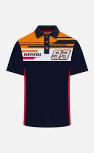 Official Marc Marquez 93 Dual Repsol Honda T Shirt - Medium