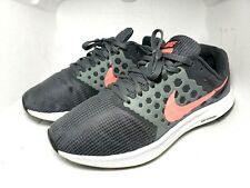 Nike Downshifter 8.5W  881585-001 Cool Grey Pink Lava Women's Running Shoes Nice