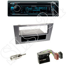 KDC-300UV Kenwood Radio + Ford Mondeo B4Y/B5Y/BWY Blende grau + ISO Adapter