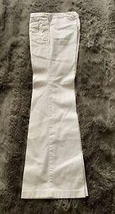 Esprit Jeans Weiß Boot Cut Short 32