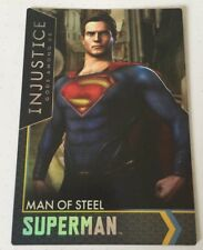 Injustice Justice League Arcade Game Trading Card Superman Man of Steel 88 FOIL