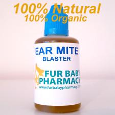 Dog Ear Mite Huile Hautement Efficace 100% Naturel Vegan friendly Organic XL Bou...