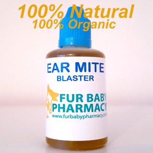 60ml Hygiene Ear Drops for Dogs Cats Horses Ear Mites Blaster. Ear Cleaner.