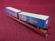 #5 TT HP PRODUCTS PENNSYLVANIA 89' FLAT CAR - CUSTOM/WOOD BUILT TRAILER VANS
