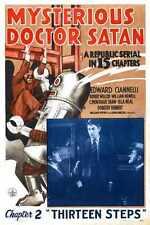 Misterioso Doctor Satanás Cartel 01 A3 Caja Lona Impresión