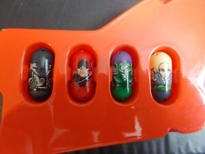 Mighty Beanz Marvel 4 Bean Lot #78 Iron Man, #8 Daredevil & 2 More!