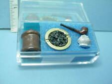 Miniature Manor House Bookshelf Sculpture #A4195 Falcon Miniatures
