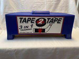 Tape 2 Tape Hockey Training System Goal Rebounder Trainer