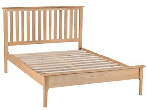 NORMANDY OAK 3'0 BED FRAME / SCANDI STYLE SINGLE BED / CLASSIC BED FRAME